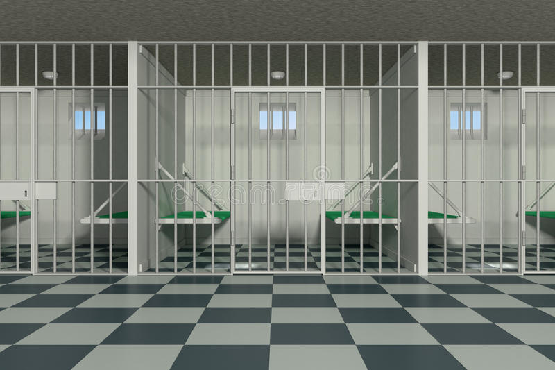 Prison illustration de vecteur
