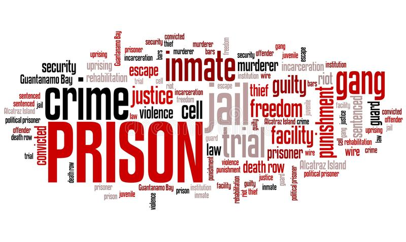 prison illustration libre de droits