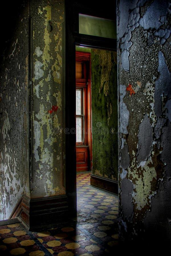 Prison abandonnée photo stock