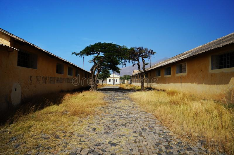 Prison in Africa royalty free stock image