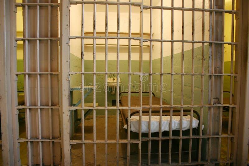 Prison cell in Alcatraz