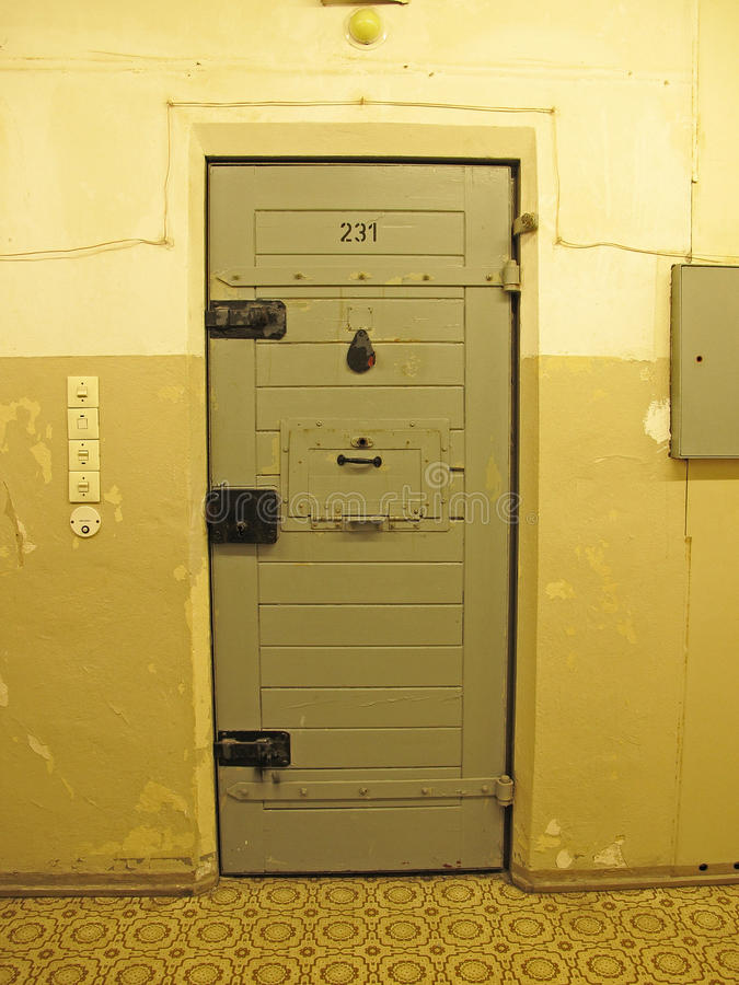 Prison cell royalty free stock image