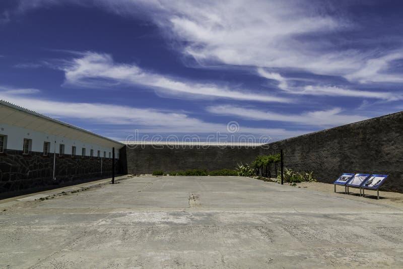 Prison d'île de Robben photographie stock