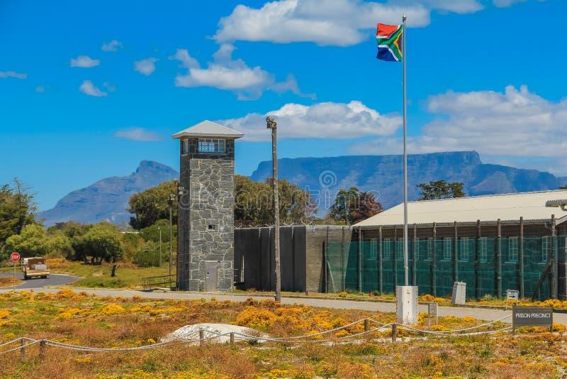 Prison d'île de Robben images stock