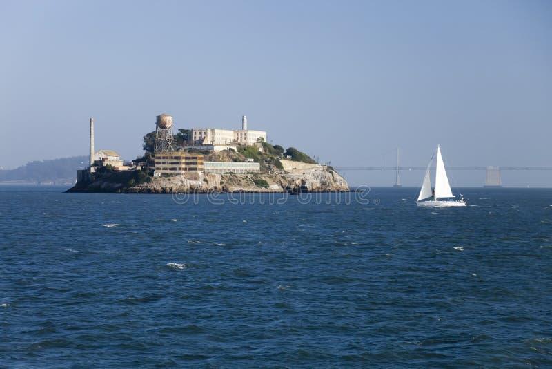 Prison d'Alcatraz à San Francisco photographie stock libre de droits