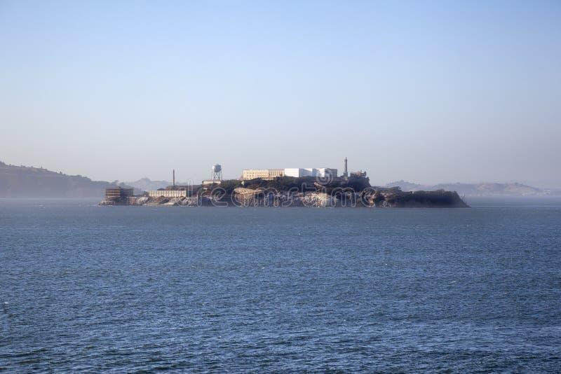 Prison d'Alcatraz california images libres de droits