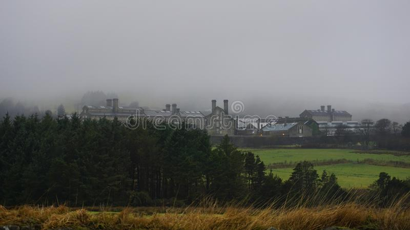 Prison de Dartmoor image libre de droits