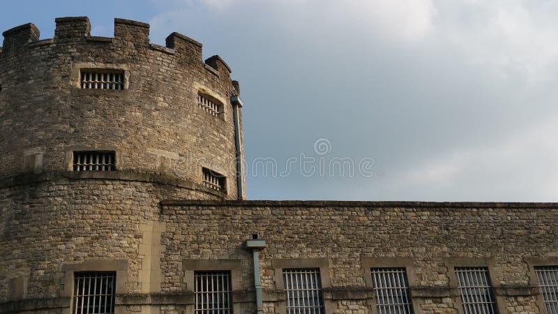 Prison de prison de château d'Oxford image stock