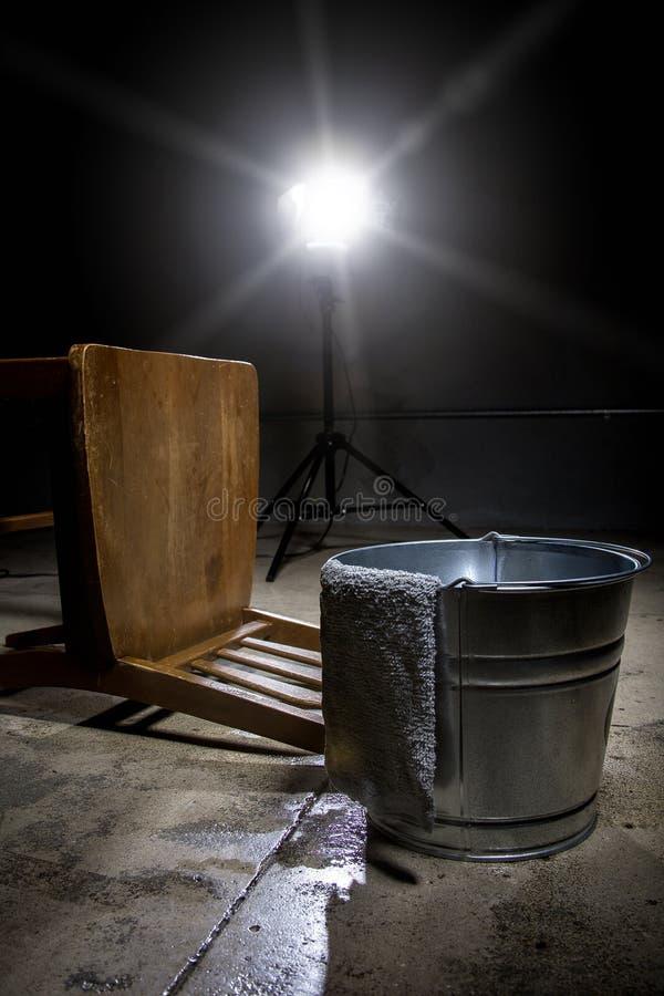 Prison de Waterboarding images stock