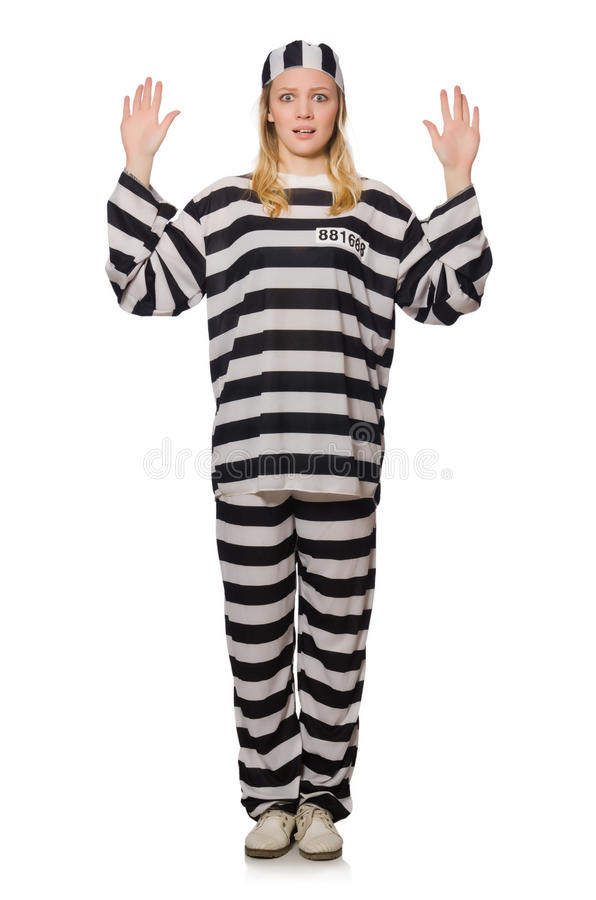 Prison drôle photo libre de droits
