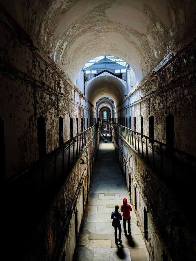 Prison fantomatique photographie stock libre de droits