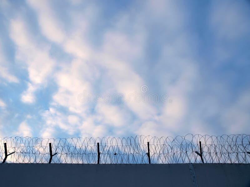 Prison fence stock photos