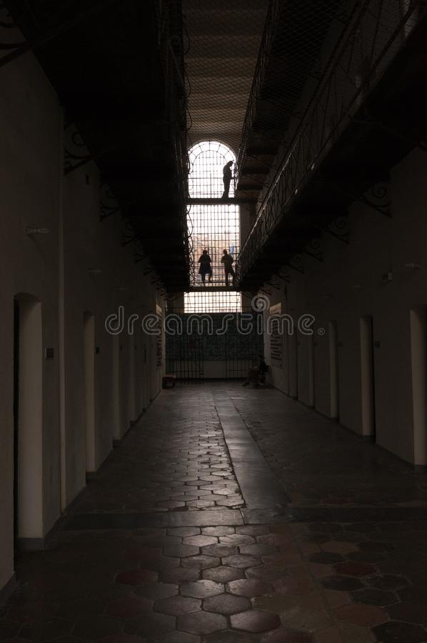 Prison Hall photos libres de droits