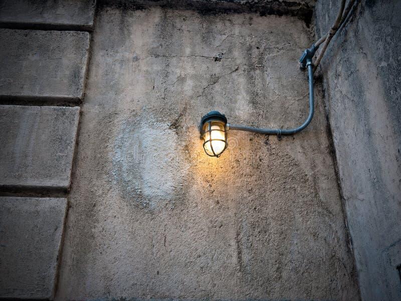 Prison Light Bulb royalty free stock image