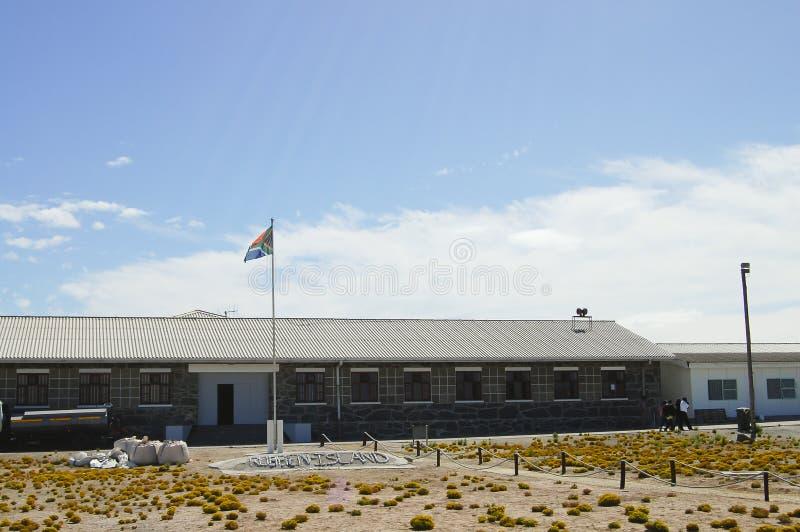 Prison maximum de sécurité sur l'île de Robben - Cape Town - Afrique du Sud photo stock