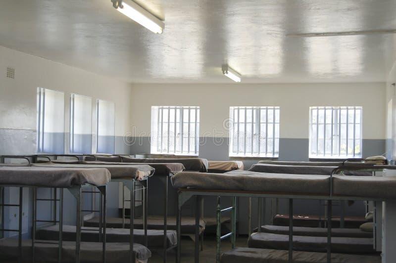 Prison maximum de sécurité sur l'île de Robben - Cape Town - Afrique du Sud photographie stock libre de droits