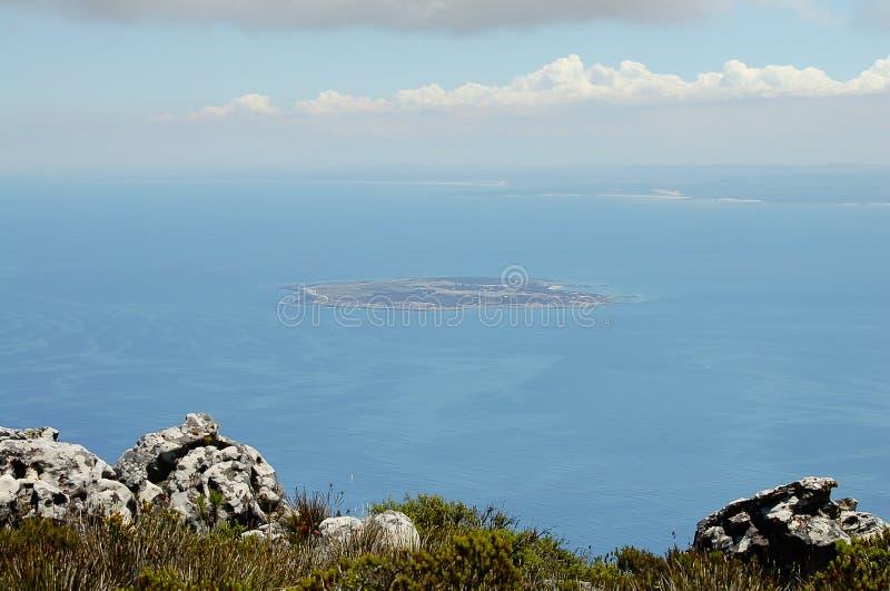 Prison maximum de sécurité sur l'île de Robben - Cape Town - Afrique du Sud images stock