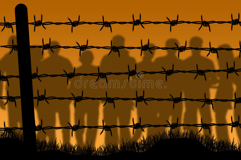 Prison royalty free illustration
