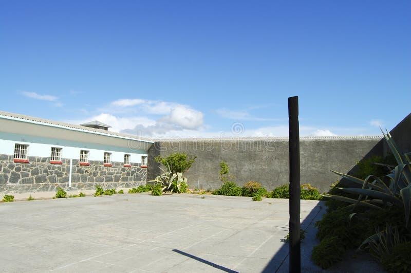 Prison sur l'île de Robben - Cape Town images libres de droits