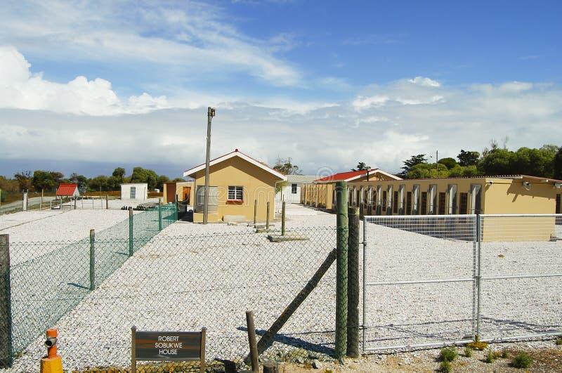 Prison sur l'île de Robben - Cape Town photo libre de droits