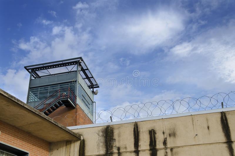 Prison Tower royalty free stock photos