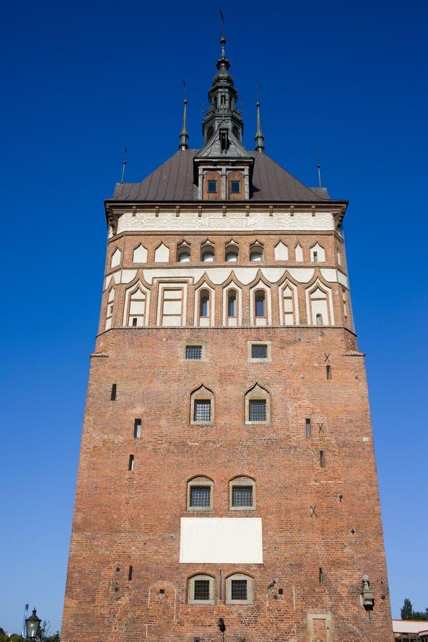 Prison Tower In Gdansk Stock Photo