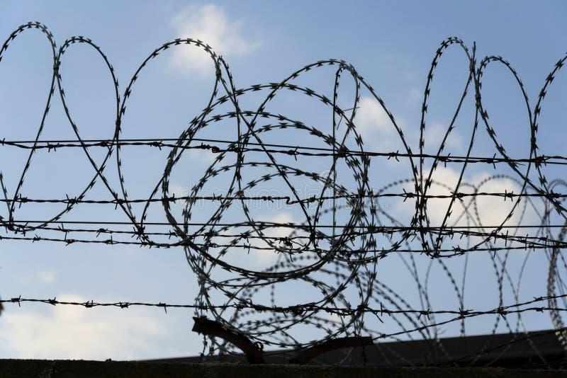 Prison Fence Clip Art Blue Sky - #1 Clip Art & Vector Site •