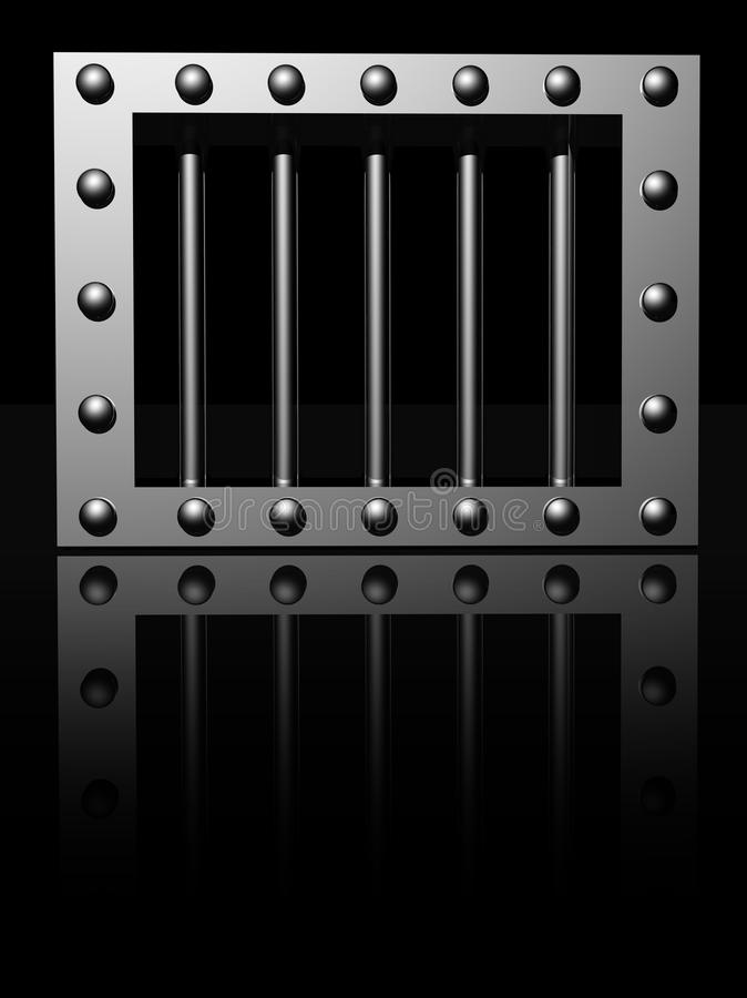 Download Prison window stock illustration. Image of prison, freedom - 26526227