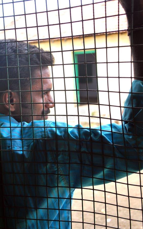 Download Prisoner stock image. Image of behind, guilt, cell, atone - 7180095