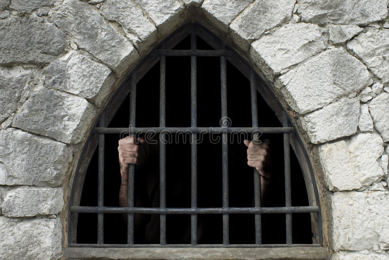 Prisoner royalty free stock images