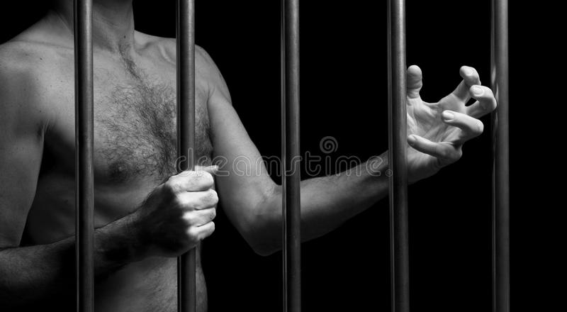 Prisoner stock photography