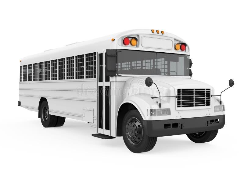 Prisoner Transport Bus Isolated Stock Illustration