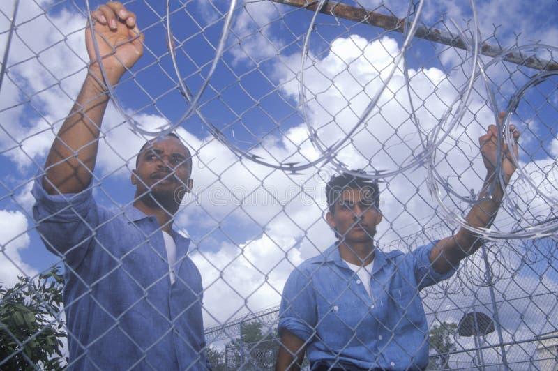 Prisoners stock photo
