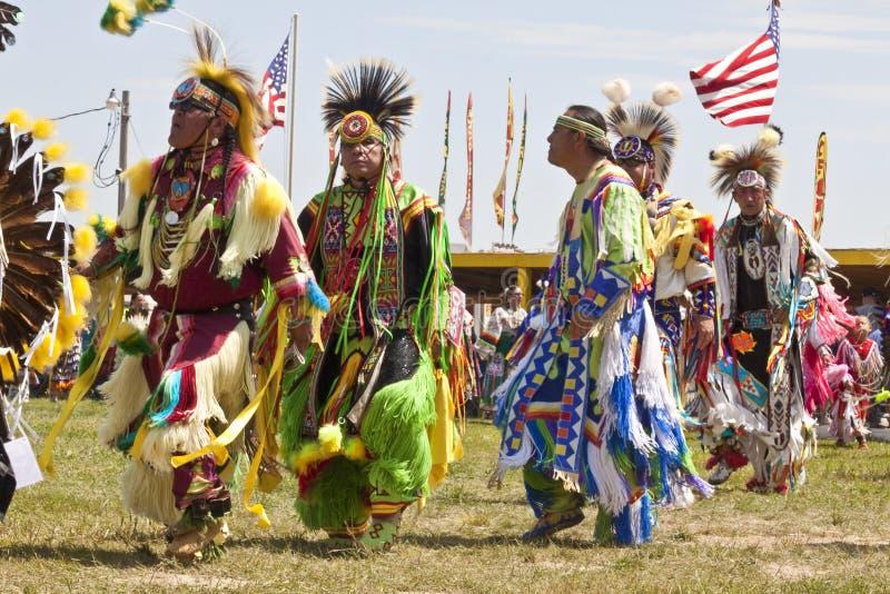 Prisonnier de guerre indigène wouah le Dakota du Sud images stock