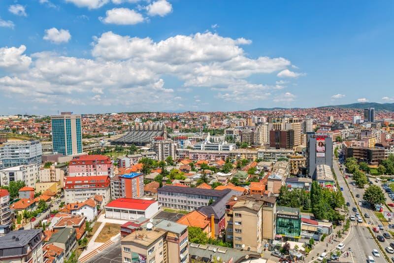 Pristina antena z Boris i Ramiz sportów sala zdjęcia royalty free