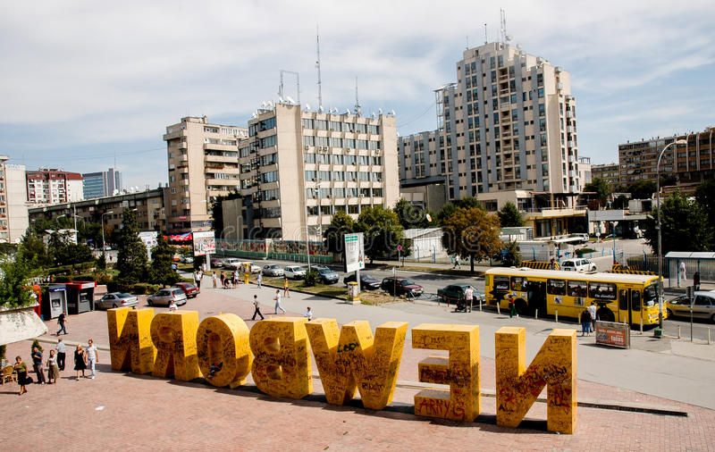Pristina, Kosovo stock foto