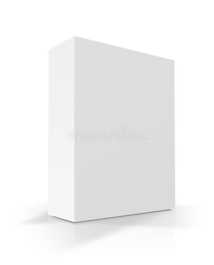Pristine Blank Box vector illustration