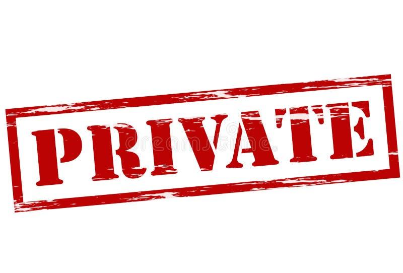 privé royalty-vrije illustratie