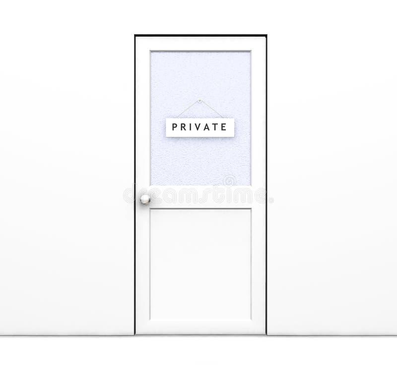 Privé vector illustratie
