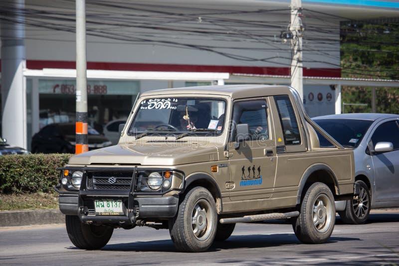 Privé auto, Suzuki Caribian stock afbeelding