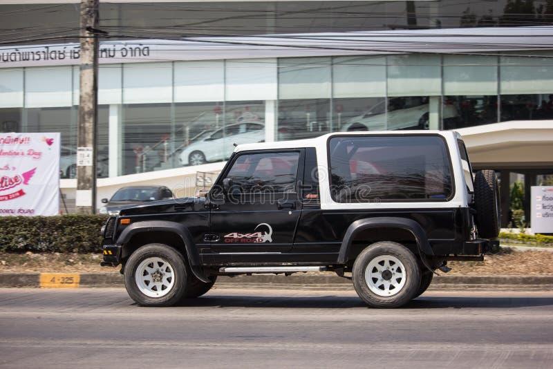 Privé auto, Suzuki Caribian royalty-vrije stock afbeelding