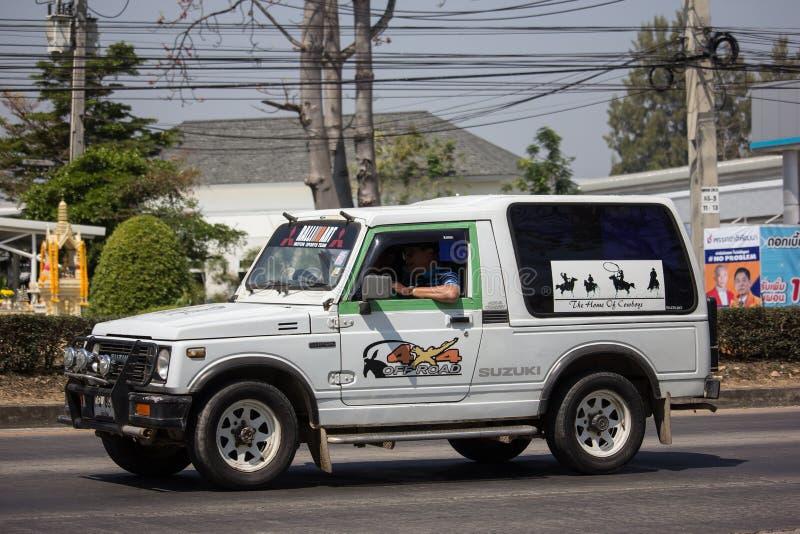 Privé auto, Suzuki Caribian royalty-vrije stock fotografie
