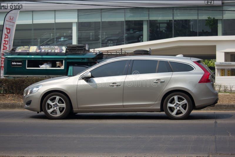 Privé auto, Volvo V60 royalty-vrije stock foto's