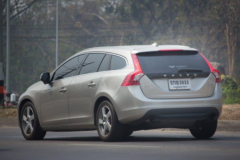 Privé auto, Volvo V60 stock foto's