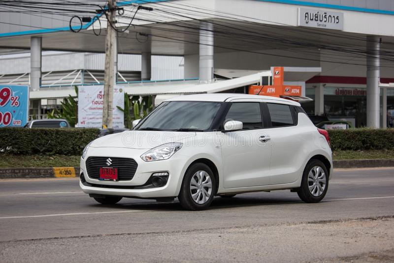Privé Eco-stadsauto Nieuw Suzuki Swift royalty-vrije stock afbeelding