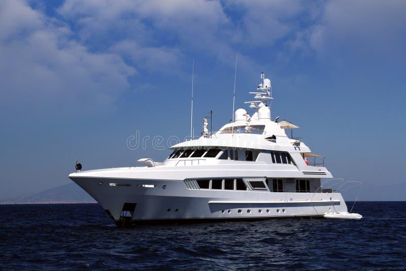 Privé jacht royalty-vrije stock afbeelding