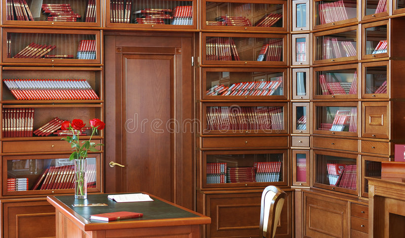 Privé-kantoor stock foto's