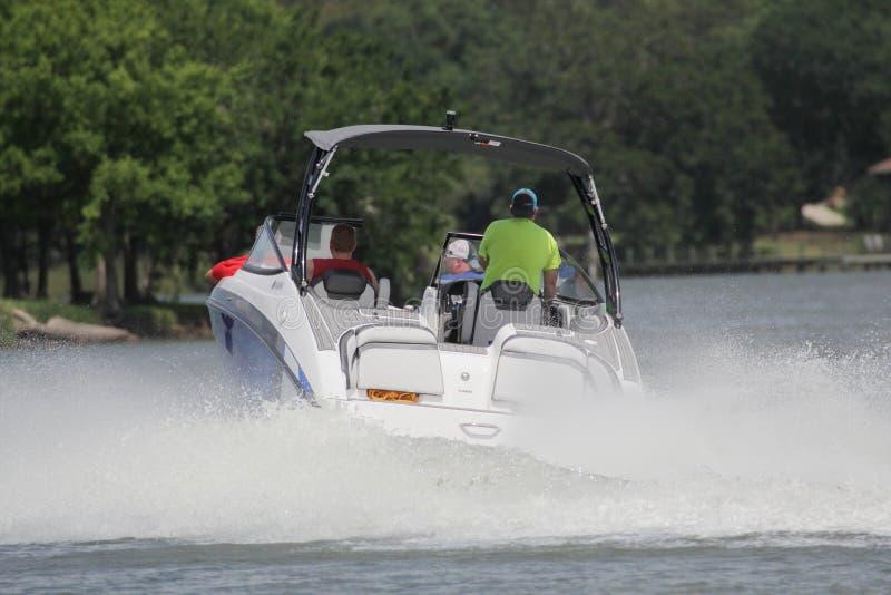 Privé roeien binnen in de Nassau Baai en Kemah Texas royalty-vrije stock fotografie