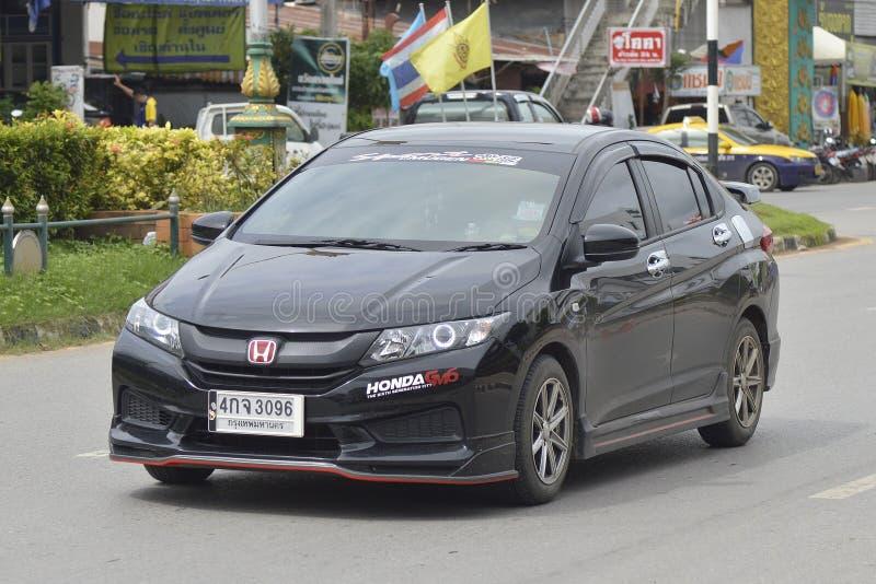 Privé Stadsauto, Honda City royalty-vrije stock afbeelding