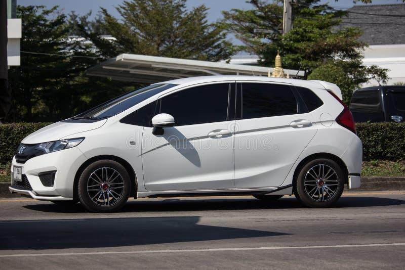Privé stadsauto Honda Jazz Hatchback stock fotografie
